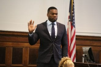 50 cent in court