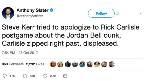 Jordan Bell Dunk