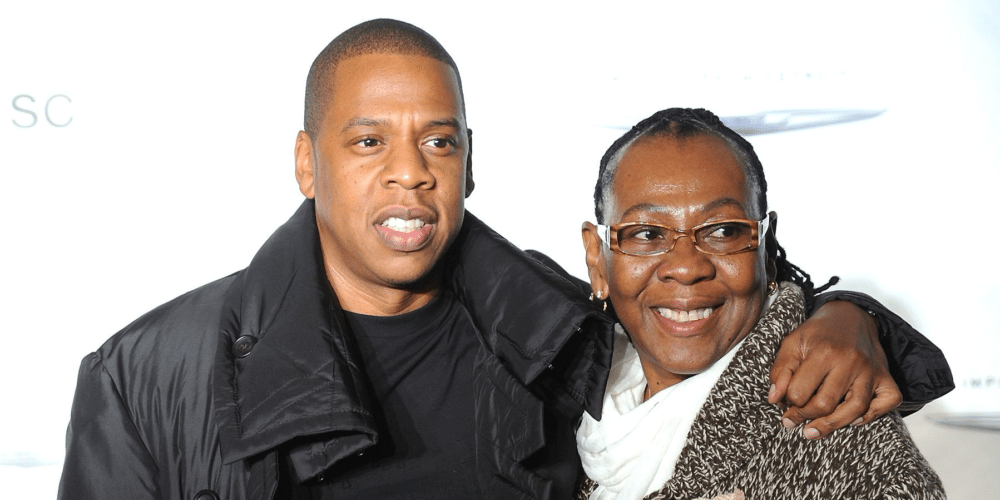 gloria carter and her son sean carter aka Jay-Z