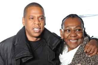 gloria carter and her son sean carter aka Jay-Z