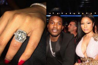 nicki minaj and meek mill get engaged