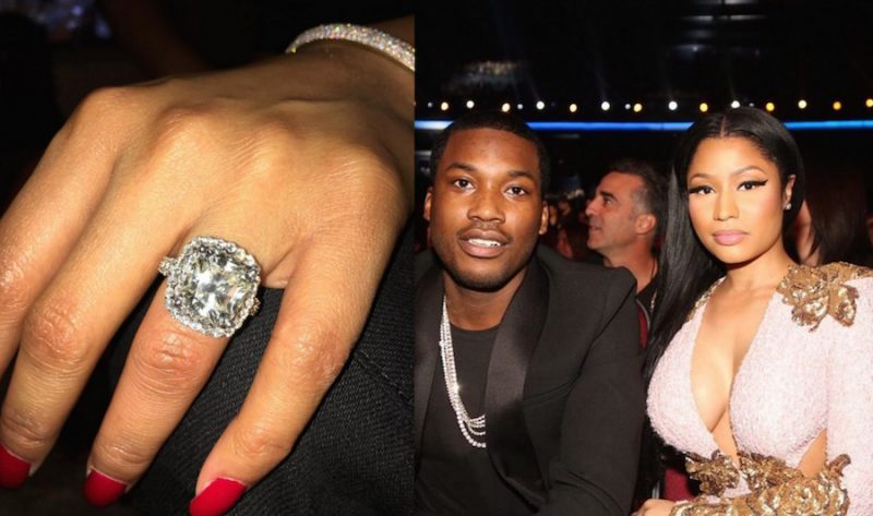 nicki minaj and meek mill get engaged