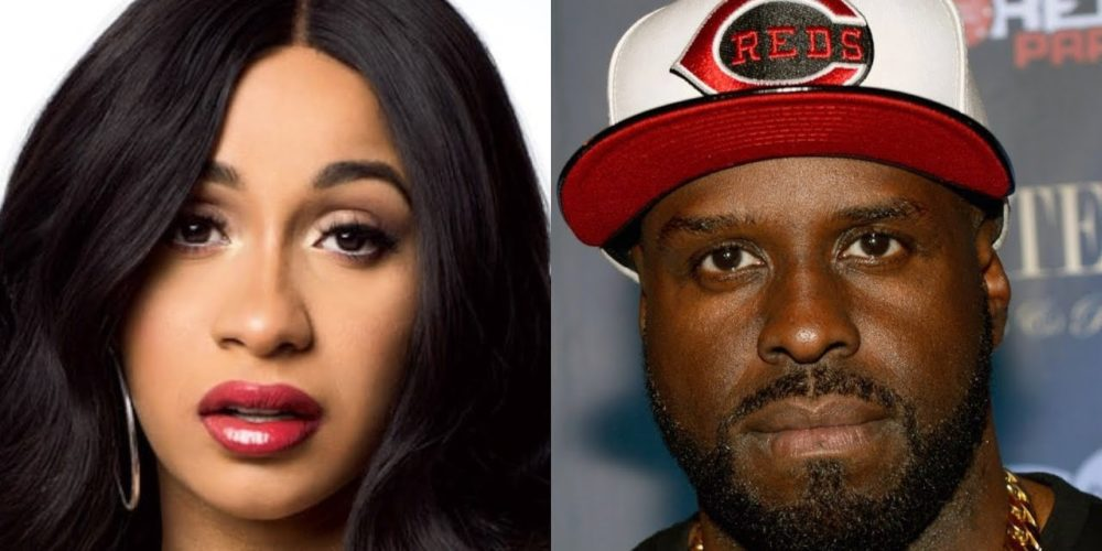 funkmaster flex knocks cardi b