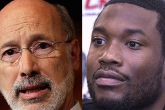 governor supports meek mill's release.