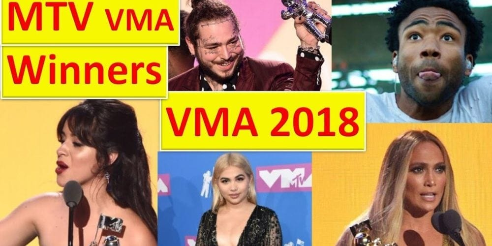 MTV VMA award winners 2018