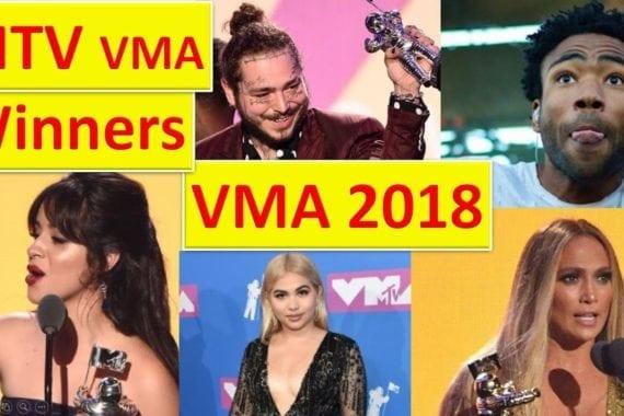 MTV VMA award winners 2018