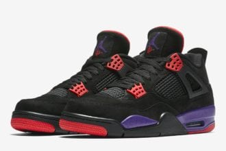 New Air Jordans 4 Raptors