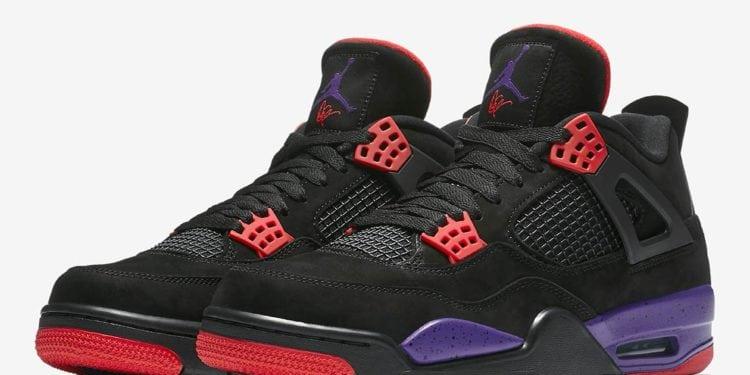 New Air Jordans 4 Raptors