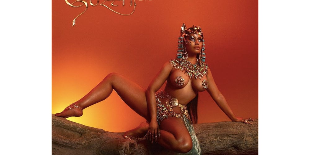 Nicki Minaj album cover for Queen