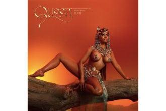 Nicki Minaj album cover for Queen