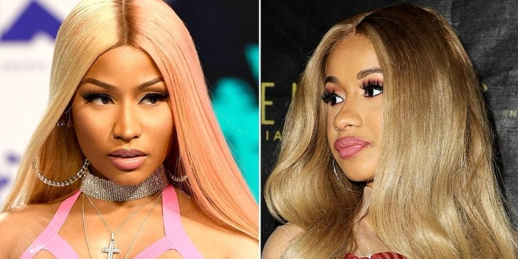 is there a nicki minaj and cardi b beef