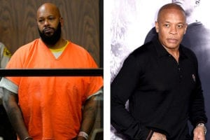 Suge Knight n Dr. Dre