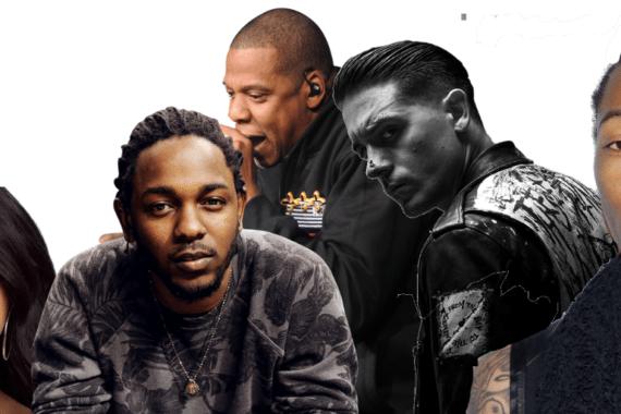 best hip hop songs of 2017