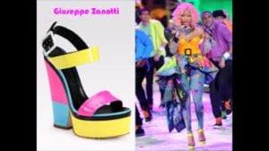 nicki minaj giuseppe shoes