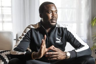 Meek Mill Grandma's House Was Spray Painted With Racial Slurs