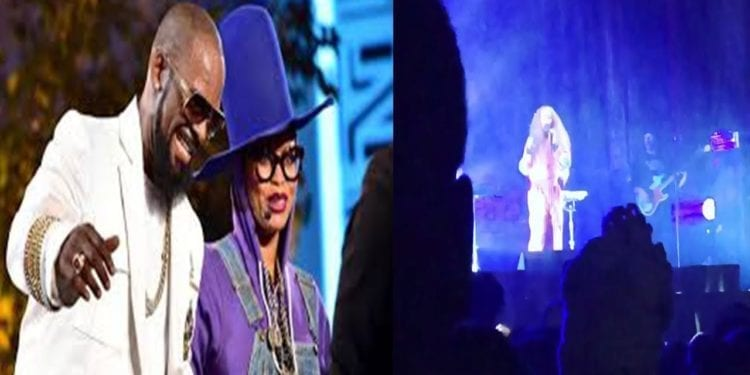Erykah Badu Receives Backlash For Supporting R Kelly