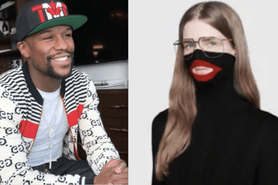 Mayweather Poses In All Gucci And Loses Fans Support