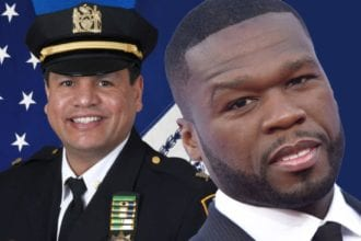 NLOA Hold Press Conference Demand NYPD To Arrest 50 Cent