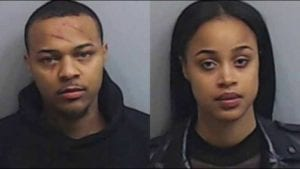shad moss and woman arrested