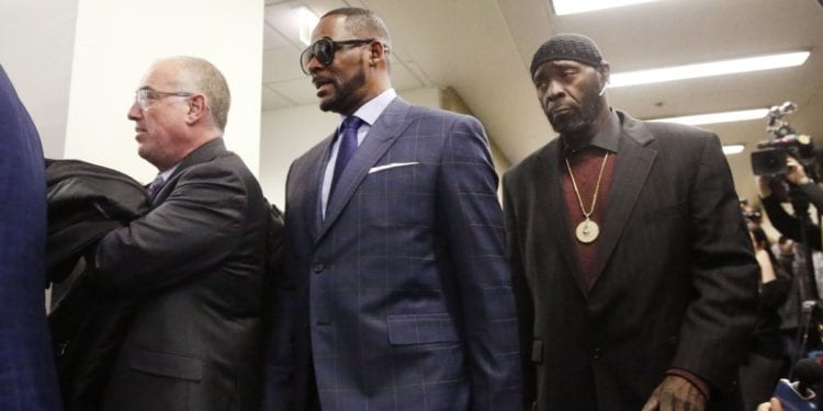 R Kelly Was Arrested For Owing $161K In Child Support