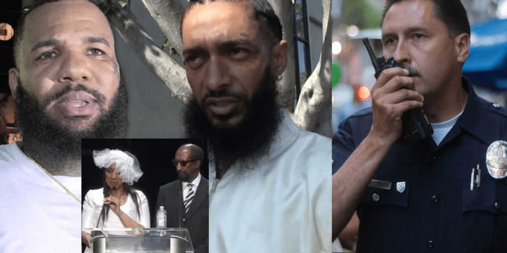 Alleged Audio Of LAPD Disrespecting Nipsey Hussle Parents