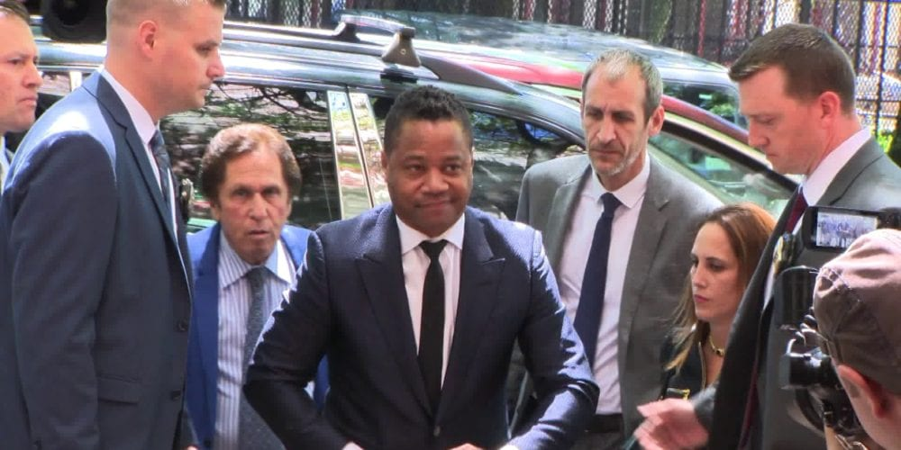 Cuba Gooding Jr Turns Himself In To NYPD