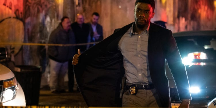 Chadwick Boseman in new movie: 21 Bridges