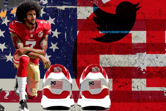 Colin Kaepernick Convinces Nike To Yank Offensive Shoe