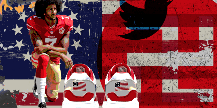 Colin Kaepernick Convinces Nike To Yank Offensive Shoe