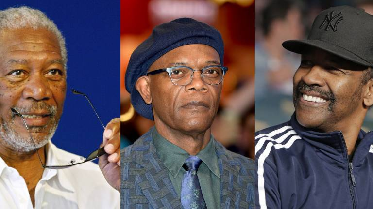 Morgan Freeman, Samual L. Jackson and Denzel Washington