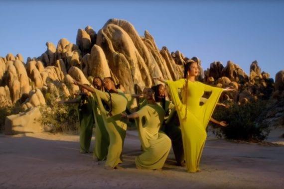 "Beyonce Video ""Spirit"" Is Breathtaking"