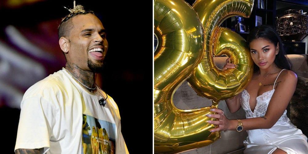 Chris Brown N Ammika Harris Expecting A Son