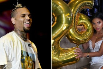 Chris Brown N Ammika Harris Expecting A Son