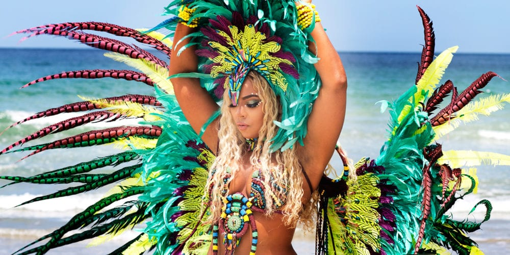 Ashanti Stuns in Music Video with Machel Montano