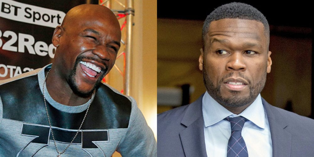 Floyd Mayweather Amps Up Beef With 50 Cent
