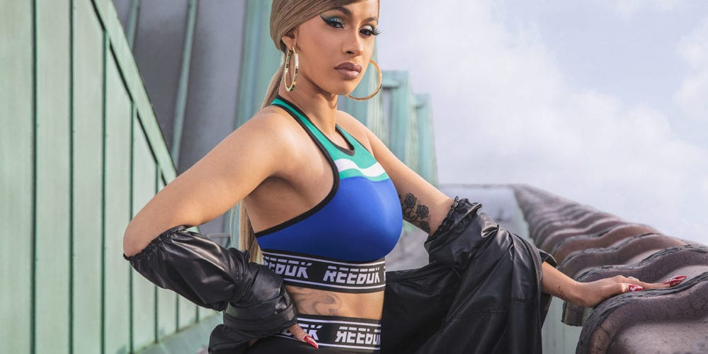 Cardi B In A New Reebok Commercial