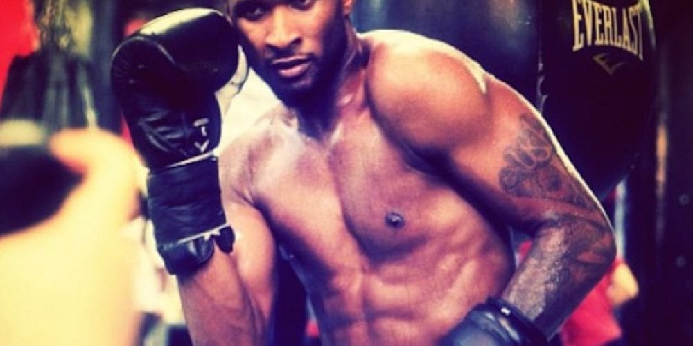 Has Usher Been Bitten By The Boxing Bug