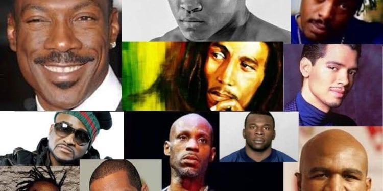 black celebrity daddy's