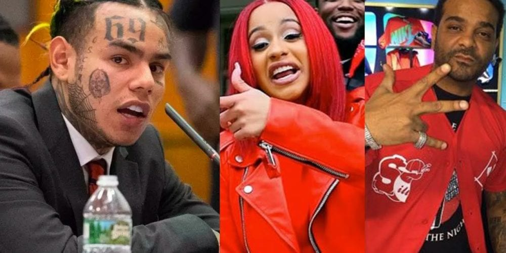 Tekashi 69 Names Cardi B And Jim Jones As Bloods