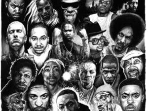 gangsta rappers