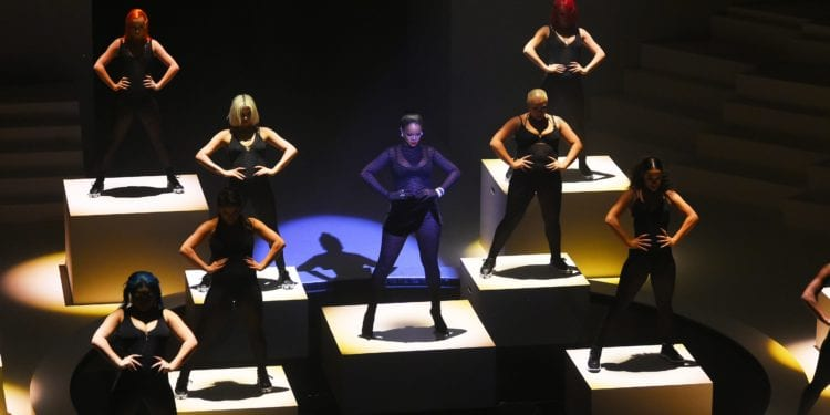 Rihanna's Fenty Lingerie Premiere's At NY Fashion Week