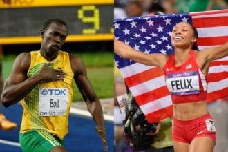Allyson Felix Broke Usain Bolt's Record!!!!!
