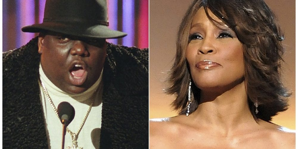 Biggie and Whitney R&R Hall Of Fame Nominees