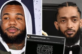 The Game Blasted For Use Of Nipsey Tattoo
