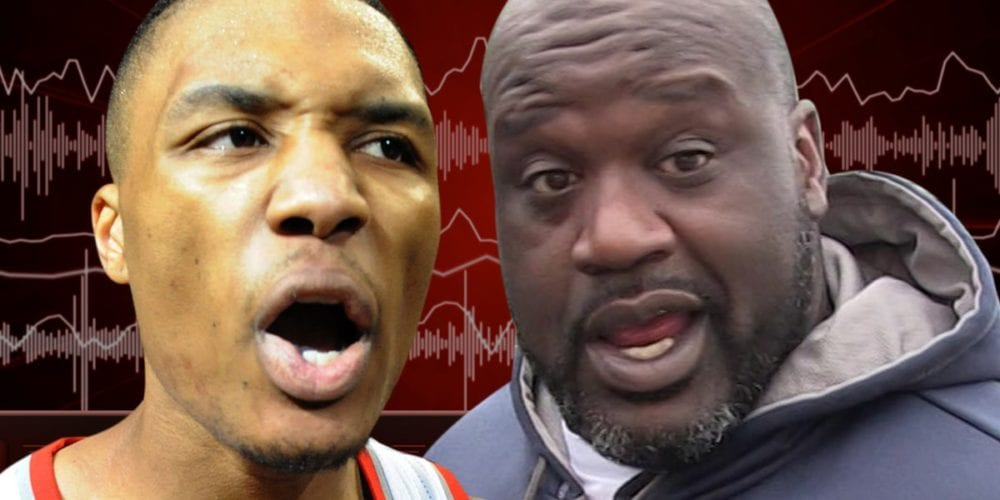 Shaq Drops Diss Track No2 On Dame Lillard