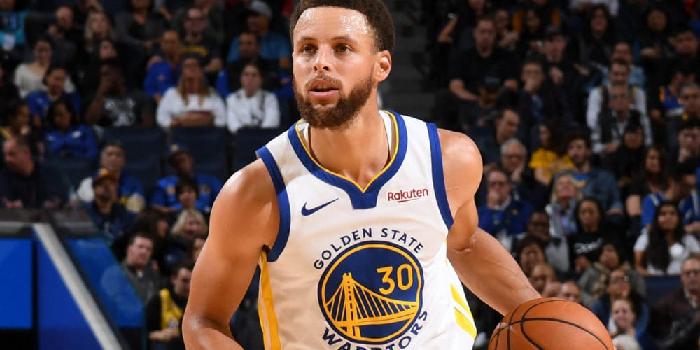 Steph Curry Suffers Broken Left Hand