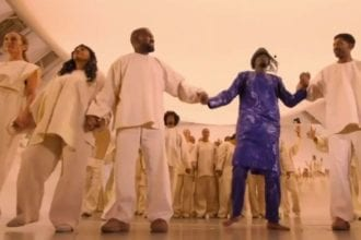 Kanye West N Sheck West Opera Performance