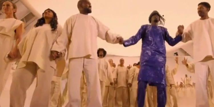 Kanye West N Sheck West Opera Performance