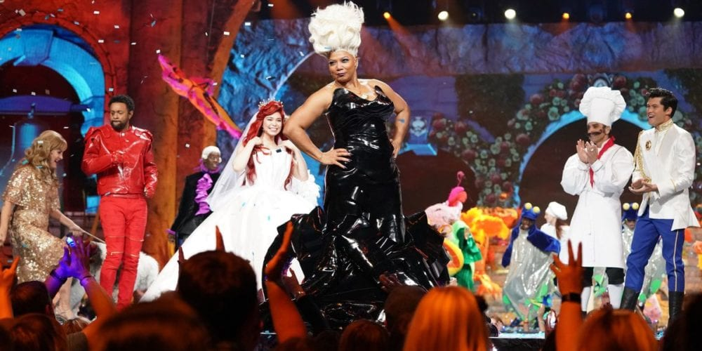 Queen Latifah N Shaggy In Little Mermaid Live
