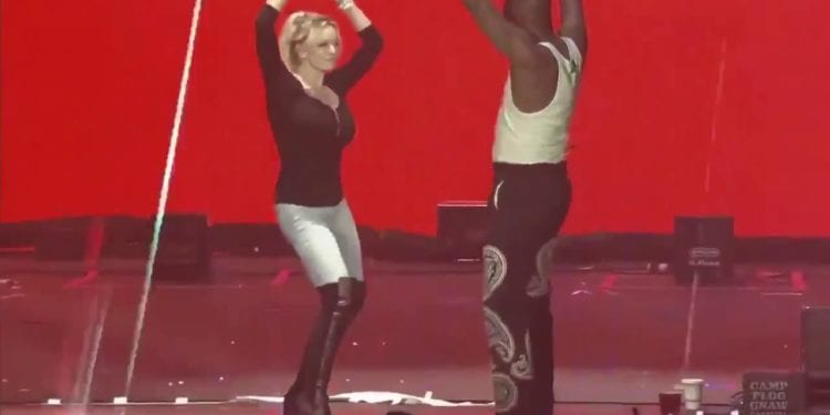 YG Brings Stormie Daniels On Stage